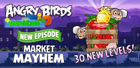 دانلود بازی فکری و پرطرفدار Angry Birds Rio 1.6.0