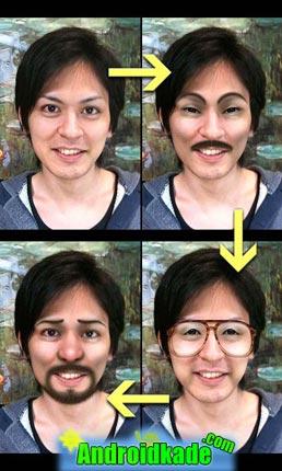 برنامه تغییر چهره برای گوشی