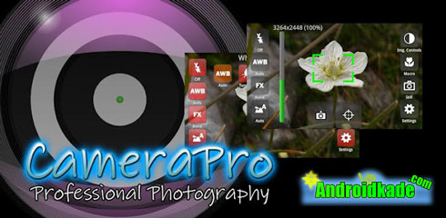 برنامه حرفه ای عکاسی با CameraPro (CameraX) 2.0 v2.43