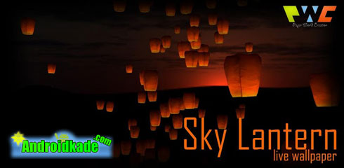 لایو والپیپر 3 بعدی Sky Lantern v1.1