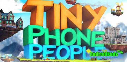 لایو والپیپر فوق العاده زیبا Tiny Phone People v1.1.0