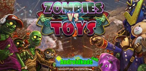 دانلود بازی جنگ زامبی ها و اسباب بازی ها Zombies vs Toys v1.0