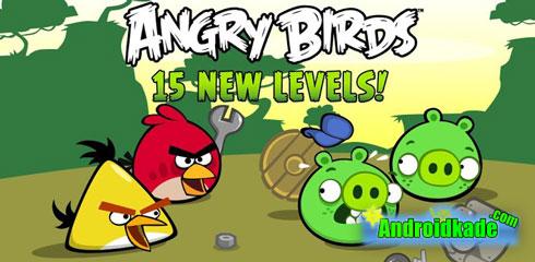 دانلود بازی پرندگان خشمگین Angry Birds 3.1.0