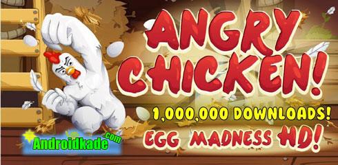 دانلود بازی مرغ عصبانی : جنون تخم مرغ Angry Chicken: Egg Madness v3.1.0