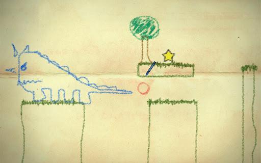 نقاشی ساده با مداد شمعی دانلود بازی فکری و زیبای مداد شعمی Crayon Physics Deluxe ...