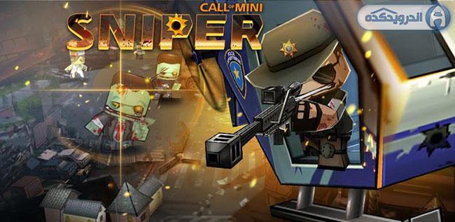 دانلود بازی اکشن و ماجرایی Call Of Mini: Sniper v1.21 به همراه دیتا