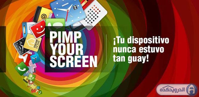 دانلود برنامه فوق العاده Pimp Your Screen with Widgets v1.0.1