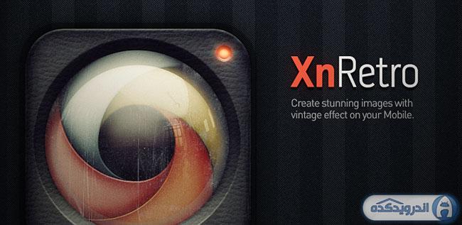 دانلود نرم افزار افکت عکس ها XnRetro Pro v1.72 اندروید