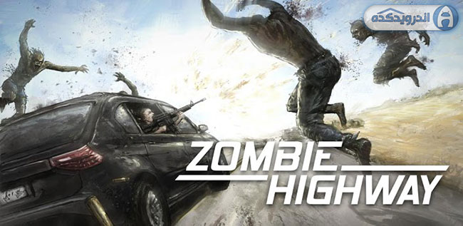 دانلود بازی اکشن و زیبای اندروید Zombie Highway v1.6