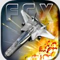 دانلود بازی هواپیمایی اکشنFractal Combat X v1.4.11.هک شده اندروید