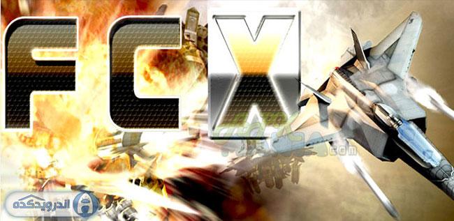 دانلود بازی هواپیمای جنگنده Fractal Combat X v1.4.11.0 اندروید