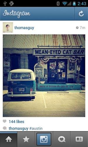 دانلود بهترین شبکه اجتماعی عکس اندروید Instagram v5.0.6