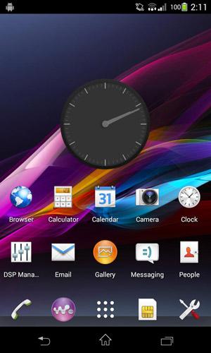 دانلود تم اصلی اکسپریا زد برای سیانوژن CM11 CM10 Sony XPERIA Z theme v2.2.7