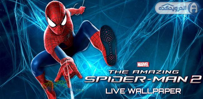 دانلود تصویر زمینه متحرک مرد عنکبوتی شگفت انگیز Amazing Spider-Man 2 Live WP (Premium) v2.1