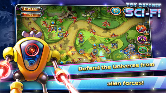 Toy Defense 4: Sci-Fi v1.6.0 android