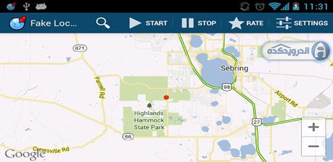 دانلود برنامه تغییر مکان غیرواقعی Fake GPS Location Spoofer v4.0 اندروید