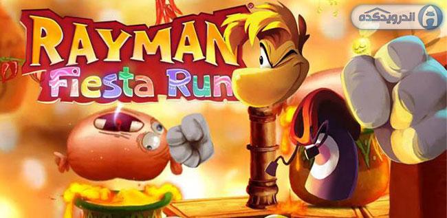 دانلود بازی ریمن : دونده فیستا Rayman Fiesta Run v1.2.5 همراه دیتا + تریلر