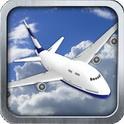 دانلود بازی شبیه ساز پرواز با هواپیما ۳D Airplane flight simulator v2.2 اندروید