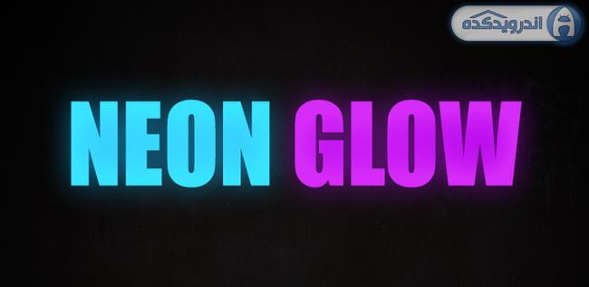 دانلود تم نئون درخشنده Neon Glow – Icon Pack v1.5