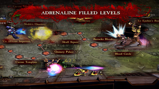 دانلود بازی اکشن و جنگی Warhammer 40,000: Carnage v205889 اندروید