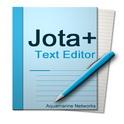 دانلود برنامه ویرایشگر متن ها Jota+ (Text Editor) PRO v2017.09 اندروید