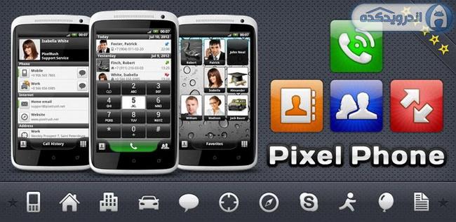 دانلود برنامه زیباسازی مخاطبین PixelPhone PRO v3.5 اندروید