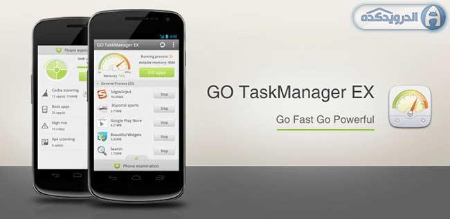دانلود برنامه مدیریت برنامه ها و رم GO Cleaner & Task Manager PRO v3.91 اندروید
