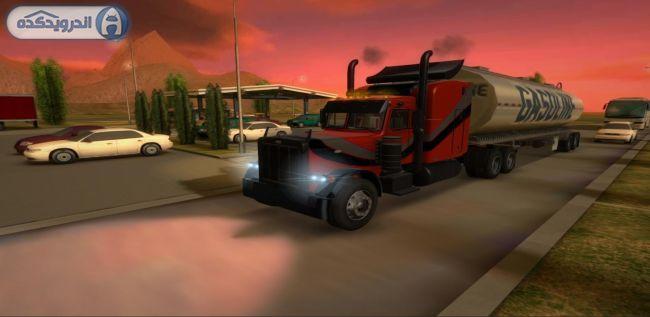 دانلود بازی شبیه ساز کامیون سه بعدی Truck Simulator 3D v1.9.8 اندروید + پول بی نهایت + تریلر