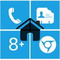 دانلود لانچر ویندوز ۸ – Home8+like Windows 8 v3.5.1 اندروید