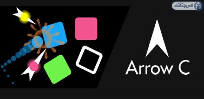 دانلود بازی پازل پرتاب تیرکمان Arrow C v1.1.1 اندروید + تریلر