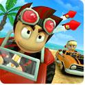 دانلود بازی مسابقات باگی ساحلی Beach Buggy Racing v1.0.1 اندروید ــ همراه دیتا + نسخه پول بی نهایت + تریلر