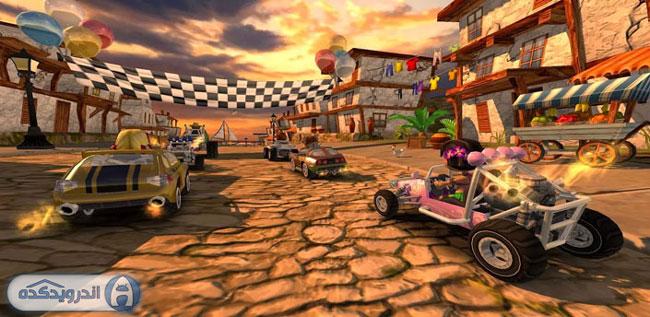 دانلود بازی مسابقات باگی ساحلی Beach Buggy Racing v1.1 اندروید ــ همراه دیتا + تریلر