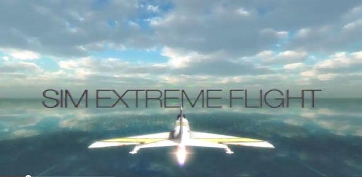 دانلود بازی شبیه ساز جنگنده SIM EXTREME FLIGHT v1.0 اندروید + پول بی نهایت