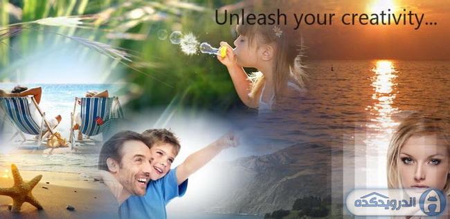 دانلود برنامه مخلوط سازی تصاویر PhotoTangler Collage Maker v1.3 اندروید