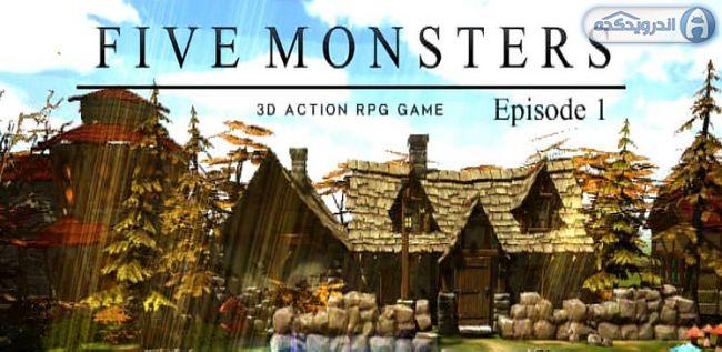 دانلود بازی پنج هیولا قسمت اول Five Monsters Episode1 v1.0 اندروید