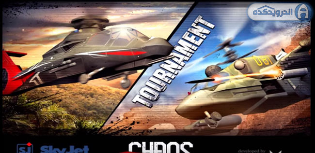 دانلود بازی نبرد هلیکوپترهای جنگی CHAOS Combat Copters HD v6.7.0 اندروید – همراه دیتا + مود + تریلر