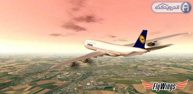 دانلود بازی شبیه ساز پرواز پاریس Flight Simulator Paris FULL HD v1.2.3 اندروید – همراه دیتا + آنلاک شده