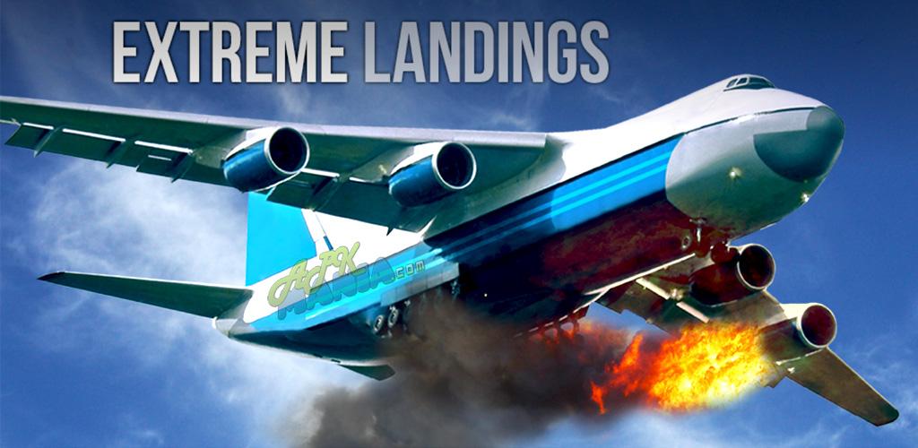 دانلود بازی فرود هیجان انگیز Extreme Landings Pro v1.21 اندروید – همراه دیتا