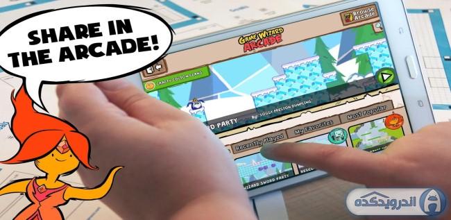 دانلود بازی ماجراجویی زمان بازی جادوگر Adventure Time Game Wizard v1.0.4 اندروید – همراه دیتا