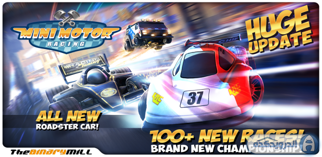 دانلود بازی مسابقه ماشین های کوچک Mini Motor Racing v1.8 اندروید – همراه دیتا + مود