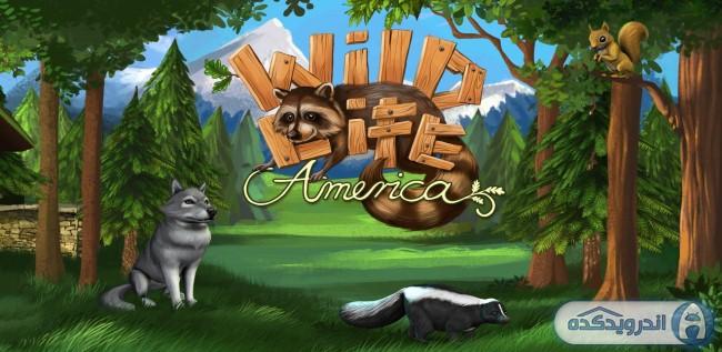 دانلود بازی حیات وحش امریکا WildLife – America v1.2 اندروید + مود