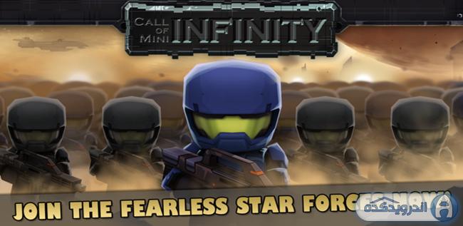 دانلود بازی اکشن و فوق العاده زیبای Call of Mini Infinity v2.4 اندروید – همراه دیتا + مود