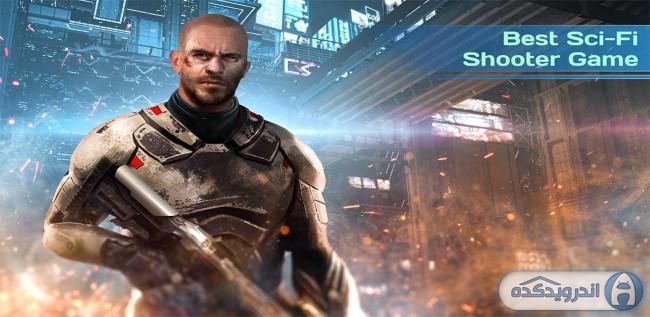 دانلود بازی شوتر زمین مرده Dead Earth: Sci-fi FPS Shooter v1.9 اندروید – همراه دیتا + مود