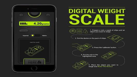 دقیق ترین برنامه ترازوی دیجیتال Digital Weight Scale اندروید
