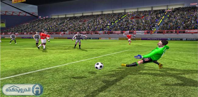 دانلود بازی دانلود بازی فوتبال ۲۰۱۵ First Touch Soccer 2015 v2.09 اندروید – همراه دیتا + تریلر