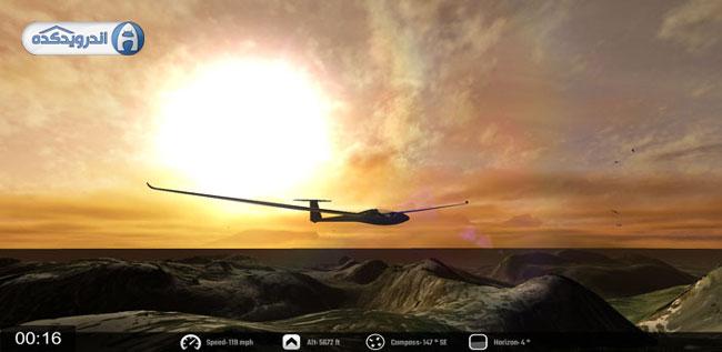 دانلود بازی گلایدر (هواپیمای بی موتور) Glider – Soar the Skies v1.3 اندروید – همراه دیتا + تریلر