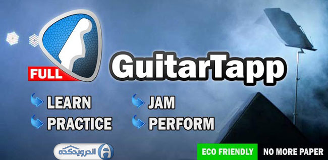 دانلود برنامه گیتار فوق حرفه ای GuitarTapp PRO – Tabs & Chords v2.9.3 اندروید – آنلاک