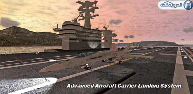 دانلود بازی فرود اضطراری Carrier Landings Pro v3.05 اندروید – همراه دیتا + تریلر
