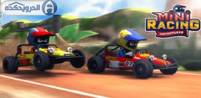 دانلود بازی اتومبیل رانی Mini Racing Adventures v1.1 اندروید