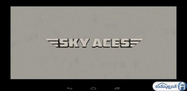 دانلود بازی قهرمانان آسمان Sky Aces 2 v1.01 اندروید همراه مود